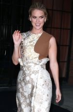 ALICE EVE Leaves The Bowery Hotel in New York 08/26/2015