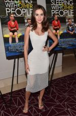 ALISON BRIE at Sleeping with Other People Screening in Los Angeles