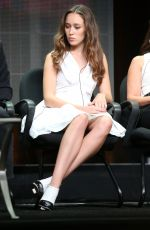 ALYCIA DEBNAM-CAREY at Fear the Walking Dead Summer TCA Tour in Beverly Hills