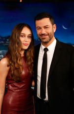 ALYCIA DEBNAM-CAREY at Jimmy Kimmel Live 08/27/2015