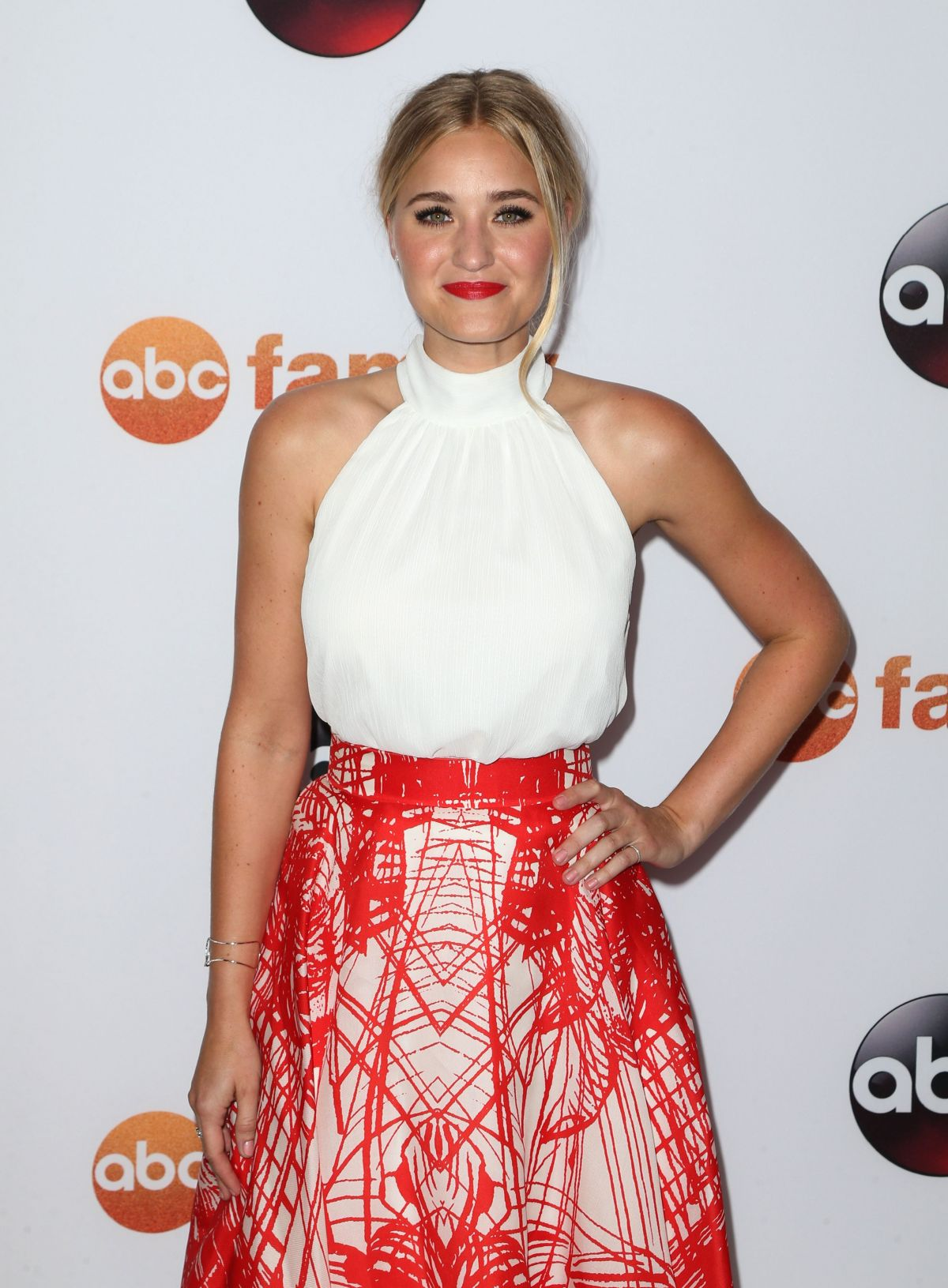 AMANDA AJ MICHALKA at Disney ABC 2015 Summer TCA Tour in Beverly Hills