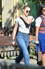 AMBER HEARD Out and About in Disneyland in Anaheim 08/27/2015