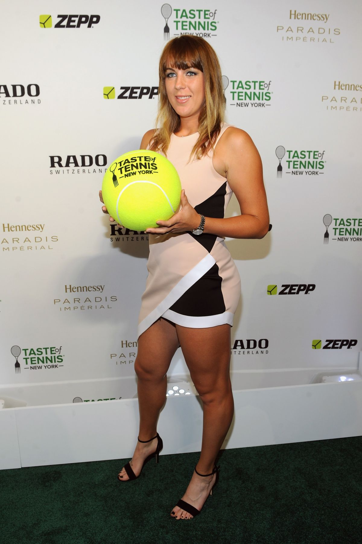 ANASTASIA PAVLYCHENKOVA at Taste of Tennis Gala in New York