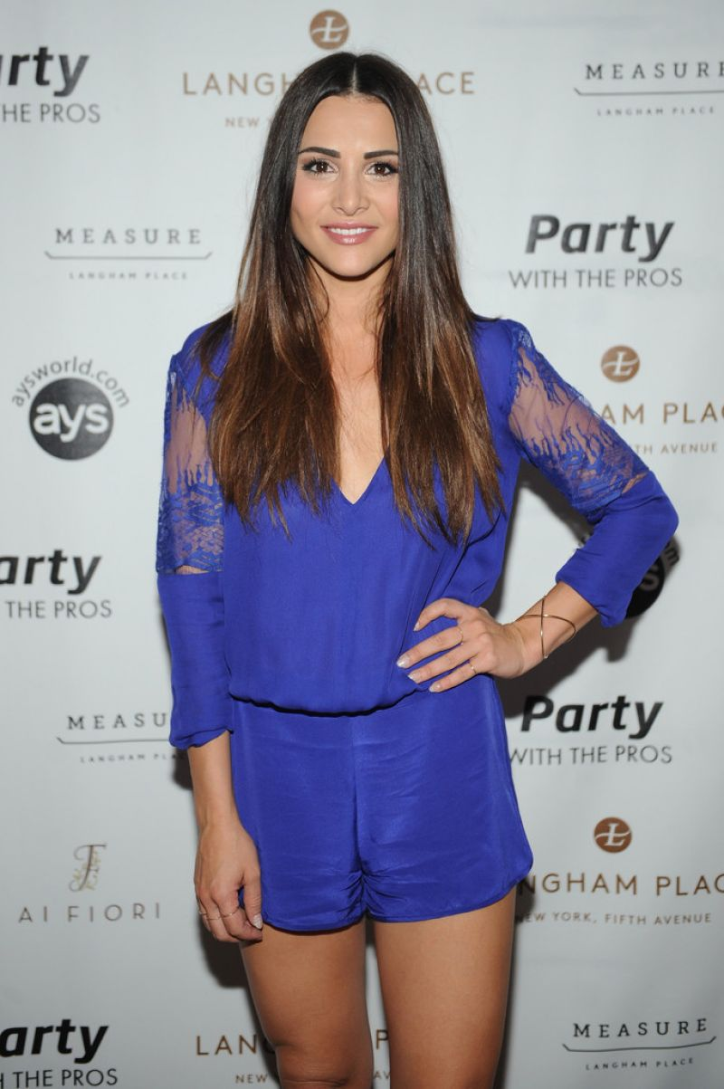 ANDI DORFMAN at Taste of Tennis Week: Party with the Pros in New York 08/29/2015