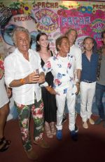 ANNE HATHAWAY at Party Flower Power Pacha Ibiza 2015 in Ibiza