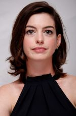 ANNE HATHAWAY at The Intern Press Conference in Los Angeles