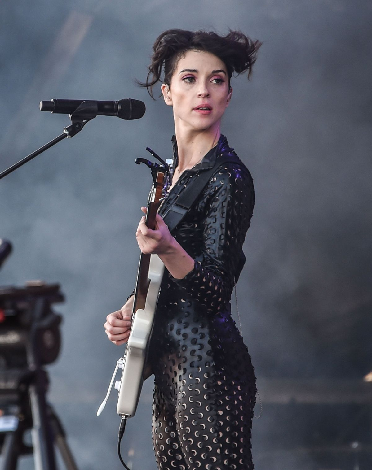 ANNIE CLARK Performs at Osheaga Music and Arts Festival in Montreal