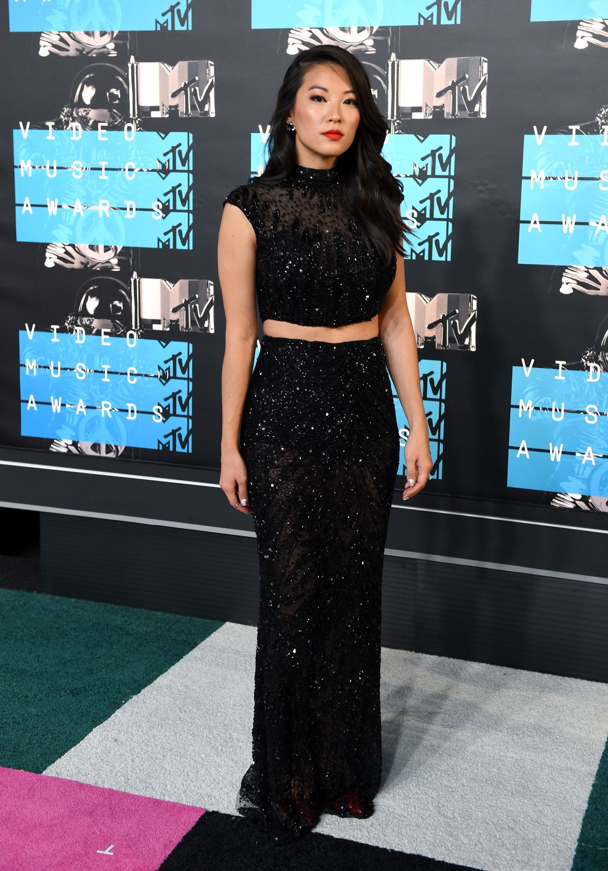 ARDEN CHO at MTV Video Music Awards 2015 in Los Angeles