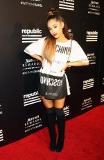 ARIANA GRANDE at Rpublic Records VMA After-party in West Hollywood
