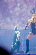 ARIANA GRANDE Performs at The Honeymoon Tour in Uncasville