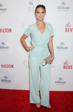 ARIELLE KEBBEL at Beverly Hilton 60 Years Diamond Anniversary Party