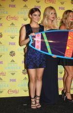 ASHLEY BENSON at 2015 Teen Choice Awards in Los Angeles