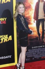 ASHLEY HINSHAW at American Ultra Premiere in Los Angeles