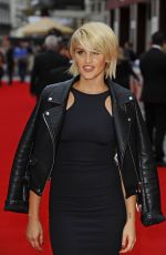ASHLEY ROBERTS at Bad Education Movie Premiere in London