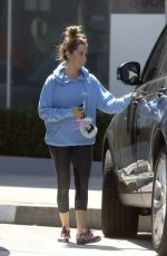 ASHLEY TISDALE Out and About in Los Angeles 08/24/2015