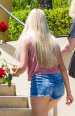 AVA SAMBORA in Cut-off Shorts Out and About in Calabasas 08/01/2015