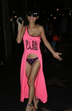 BAI LING Leaves Katsuya Restaurant in Los Angeles 08/5/2015