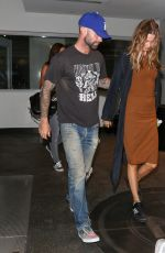 BEHATI PRINSLOO Out and About in Hollywood 08/27/2015
