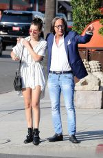 BELLA HADID Out and About in Los Angeles 08/20/2015