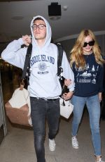 BELLA THORNE at Los Angeles International Airport 08/04/2015