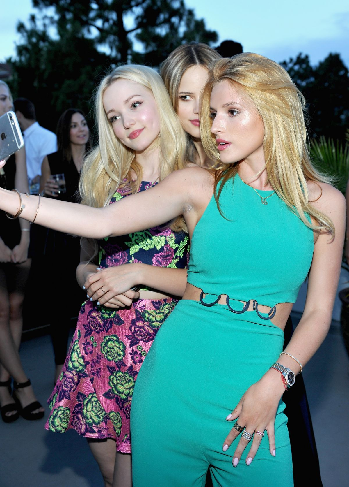BELLA THORNE at Teen Vouge Dinner Party in Los Angeles 08/05/2015