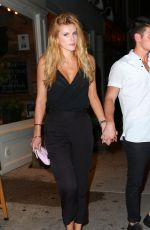BELLA THORNE Night Out in New York 07/30/2015