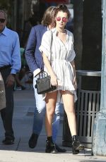 BELLA THORNE Out and About in Beverly Hills 08/20/2015