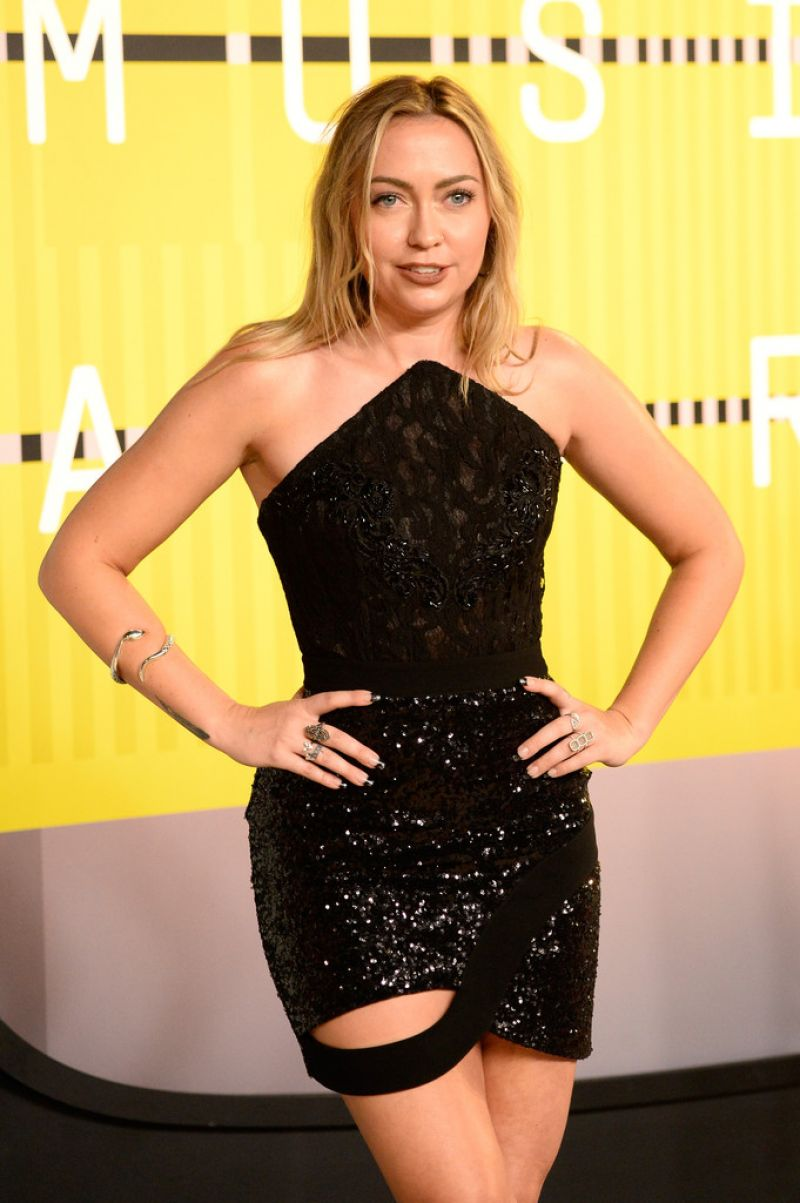 BRANDI CYRUS at MTV Video Music Awards 2015 in Los Angeles