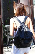 BRENDA SONG Out and About in Los Angeles 08/16/2015