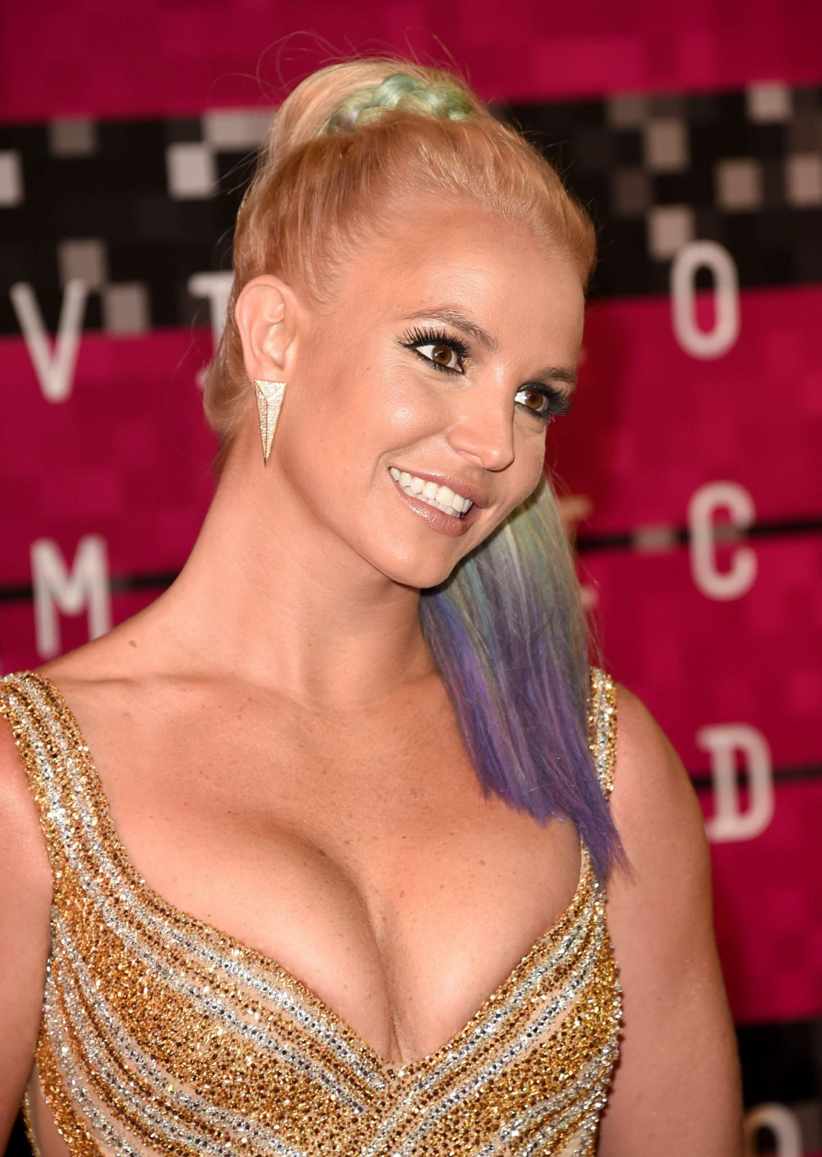 THE Britney spears shows boob