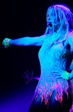 BRITNEY SPEARS Performs at Planet Hollywood in Las Vegas 08/21/2015
