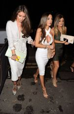BROOKE VINCENT Arrives at the Relaunch of Evissa in Manchester