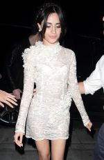 CAMILA CABELLO at Republic Records VMA Afterparty in West Hollywood