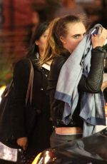 CARA DELEVINGNE at Suicide Squad Wrap Party in Toronto 08/23/2015