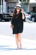 CARA SANTANA Out and About in Los Angeles 08/11/2015