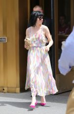 CARLY RAE JEPSEN Out and About in Soho 08/20/2015