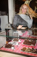 CAROLINE WOZNIACKI at Godiva Event Celebrating the 2015 U.S. Open at Godiva in New York