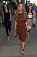 CASEY BATCHELOR Arrives at Tapas Revolution in London 08/28/2015