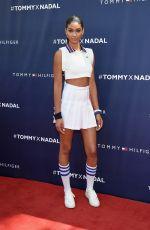 CHANEL IMAN at Tommy Hilfiger and Rafael Nadal Launch Global Brand Ambassadorship in New York