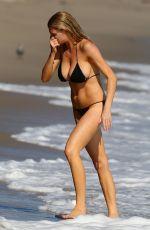 CHARLOTTE MCKINNEY in Bikini at a Beach in Malibu 08/09/2015