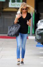CHARLOTTE MCKINNEY in Jeans Out and About in Malibu 08/20/2015