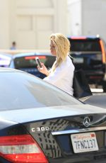 CHARLOTTE MCKINNEY Out and About in Los Angeles 07/31/2015