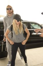 CHLOE MORETZ Arrives at LAX Airport in Los Angeles 08/20/2015