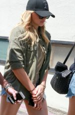 CHLOE MORETZ Out and About in Beverly Hills 08/03/2015