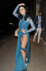 CHRALOTTE DAWSON at Blue Hues Summer Evening of Style in Manchester