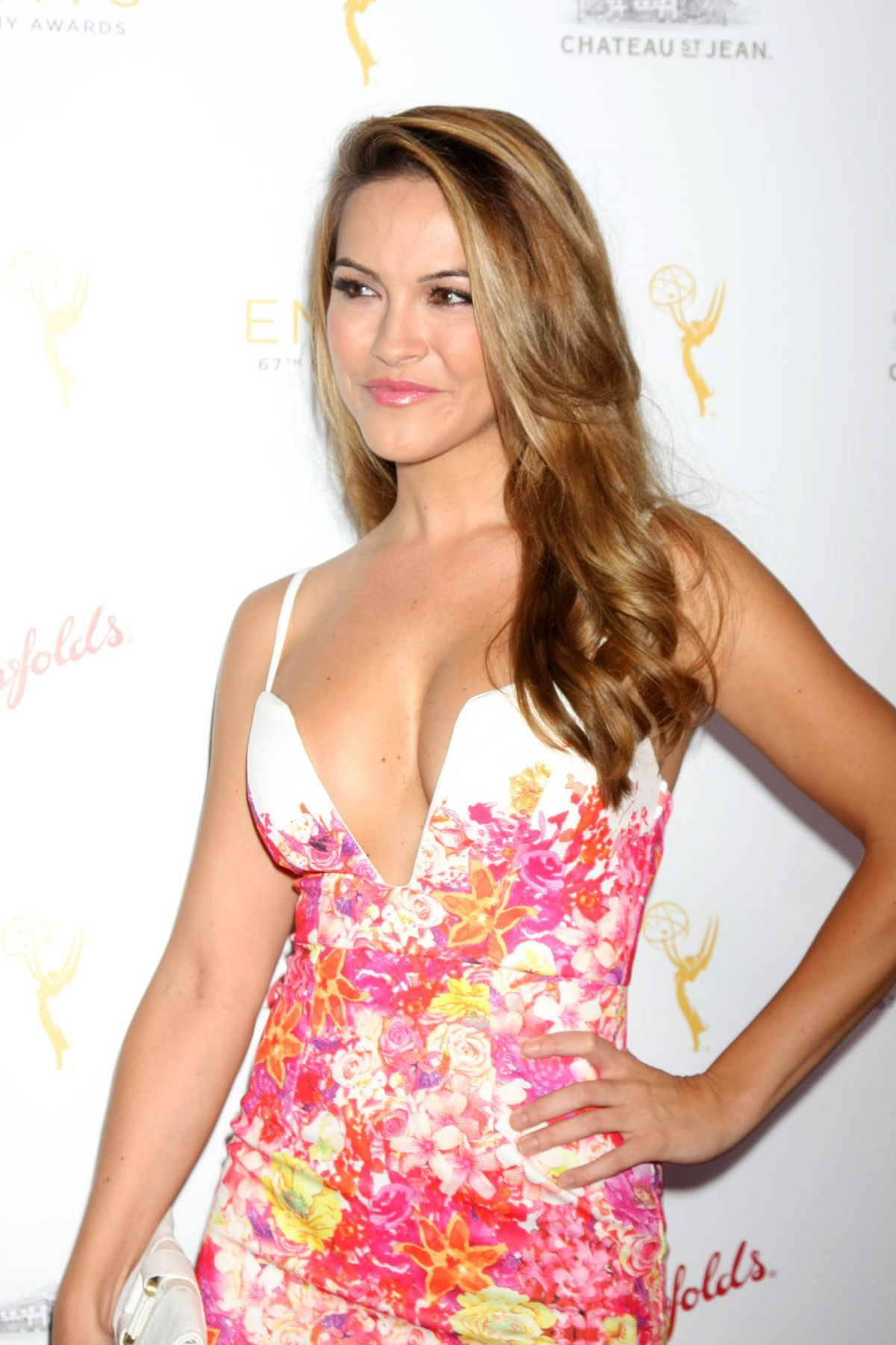 CHRISHELL STAUSE at Cocktail Reception by the Academy of Television Arts & Sciences in Montage in Beverly Hills