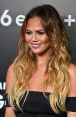 CHRISSY TEIGEN at Samsung Galaxy S6 Edge+ and Note 5 Launch in West Hollywood