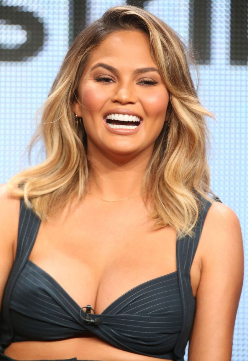 CHRISSY TEIGEN at The Fab Life Panel at 2015 Summer TCA Tour in ...