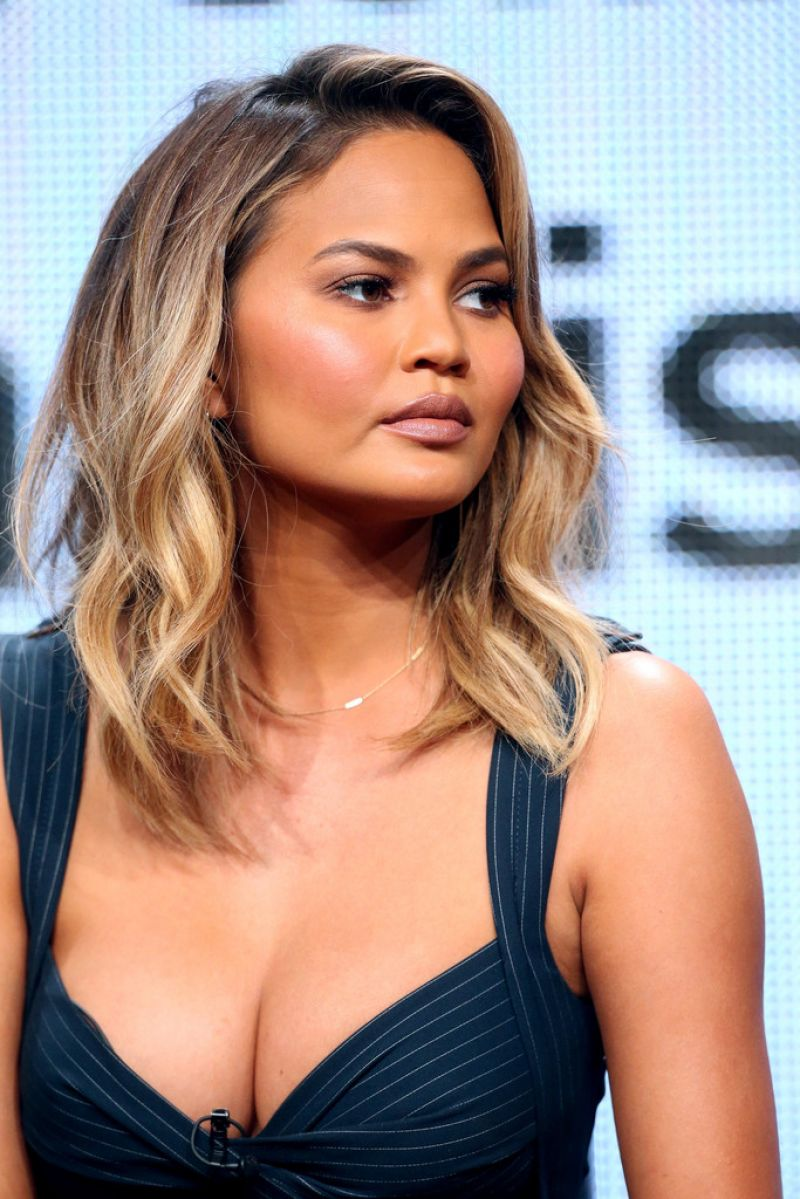 Chrissy Teigen At The Fab Life Panel At 2015 Summer Tca