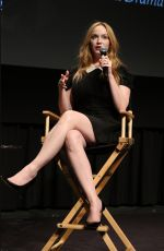 CHRISTINA HENDRICKS at SAG Foundation Conversations Series Presents Mad Men in New York 08/17/2015